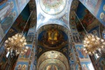 Interior detail Church of our Savior on the Spilled Blood