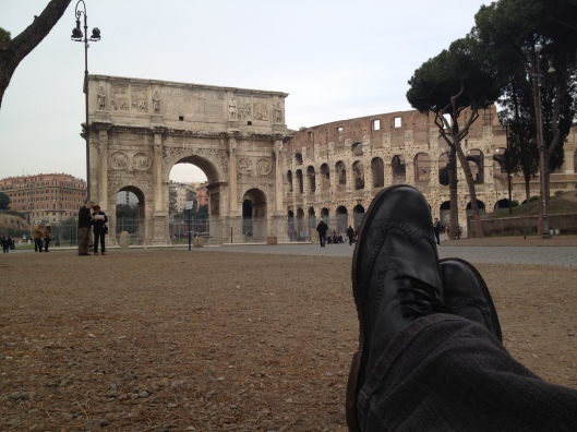 Arco di Constantino & the colusseum