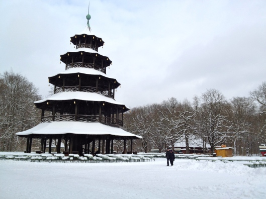 The Chinesischer Turm (Chinese Tower)