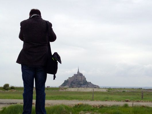 At Le Mont Saint-Michel