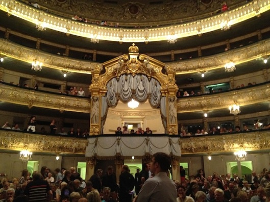 Royal box at the Mariinsky