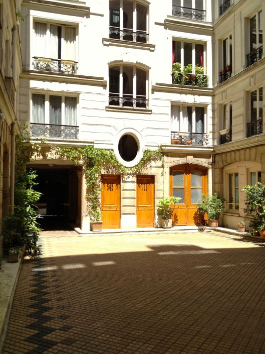 Inner Courtyard Of Our Apartment Building