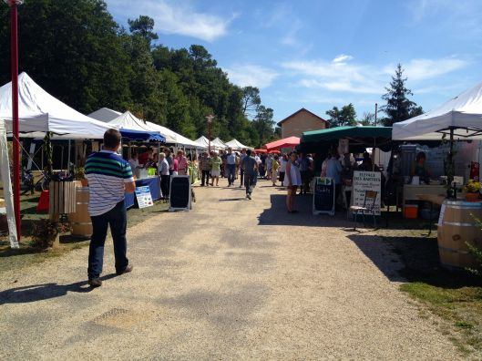 Bordeaux wine maker's fair